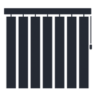 Vertical Blinds Icon